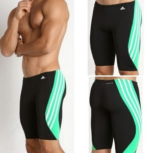 New adidas solid splice jammer shorts